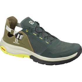 Salomon Techamphibian 4 Chaussures Homme, green gables/burnt olive/evening primrose